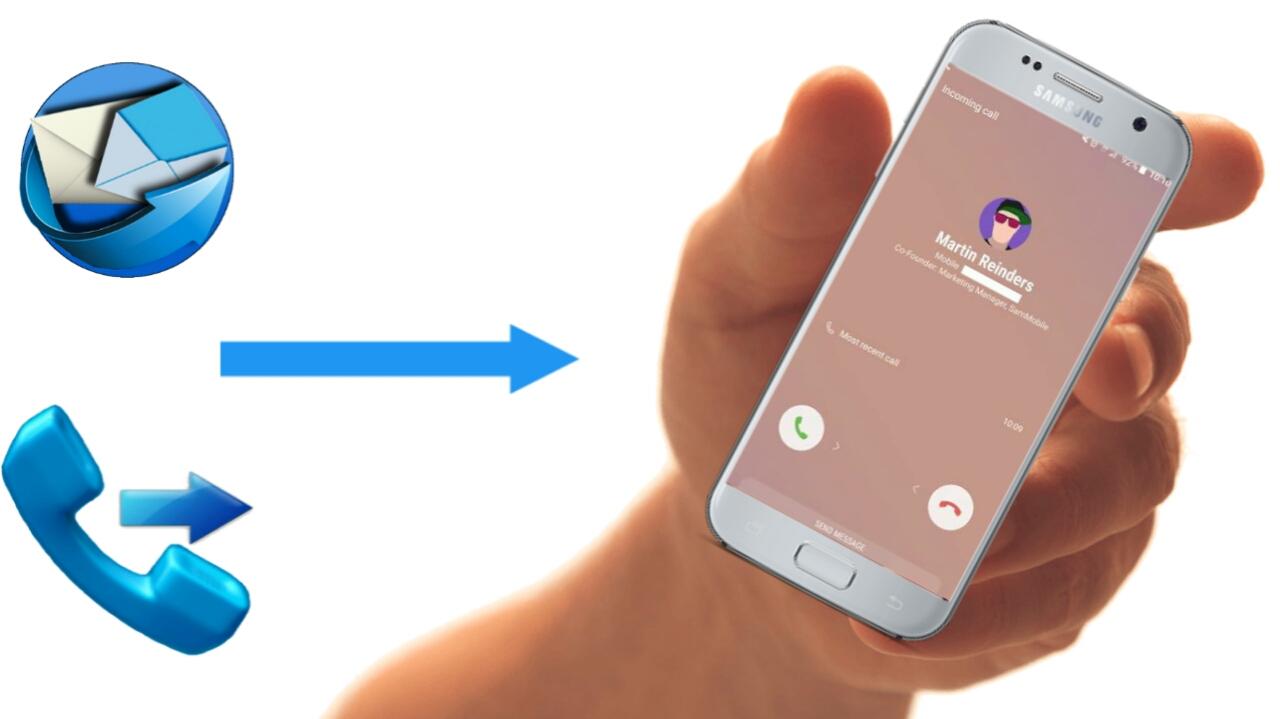 How to setup call and SMS forwarding