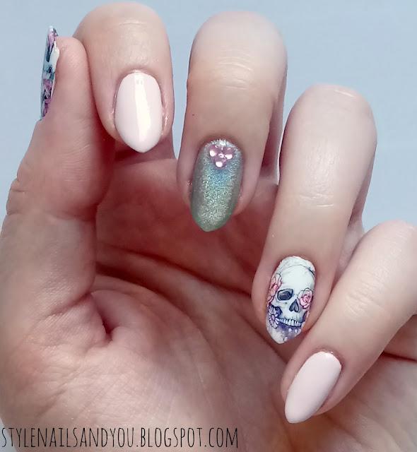 Flower&Skull | Water Decals BeautyBigBang