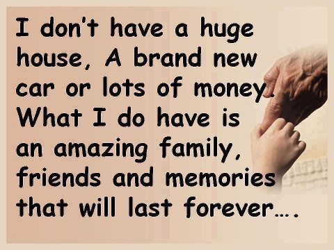 Inspirational Quotes About Family And Friends. QuotesGram