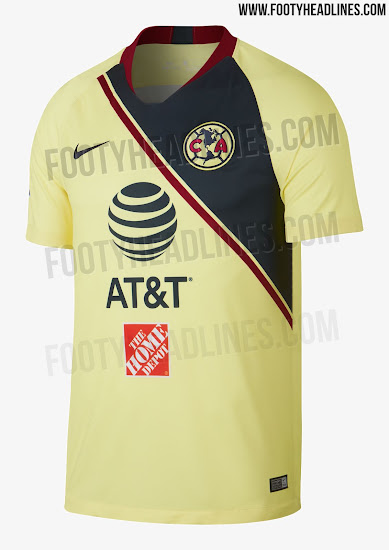 d64ec3058 This is the Club America 18-19 home kit.