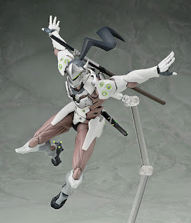 "figma Genji de ""Overwatch"" - Good Smile Company"