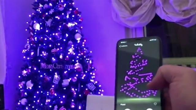 Χριστουγεννιάτικες λαμπάκια από άλλη διάσταση