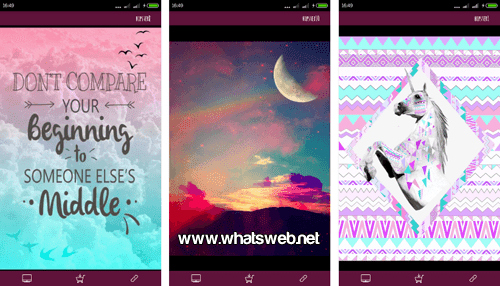 App Hipster Wallpapers para WhatsApp gratis