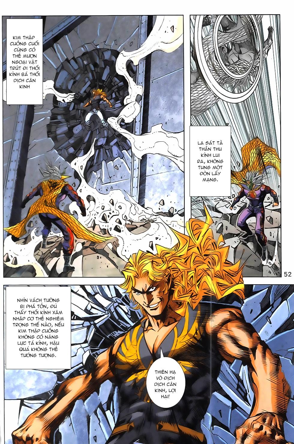 Hoàng Giả Chi Lộ chap 12.2 Trang 24 - Mangak.info