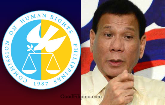 CHR on President Rody Duterte: 'He violated Magna Carta of Women with rape joke'