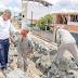Prefeito Dinha acompanha o andamento das obras na Via Universitária
