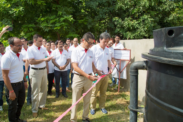 "Mitsubishi Electric supports school of ""Divyang"" children in Swachh Bharat Abhiyan"