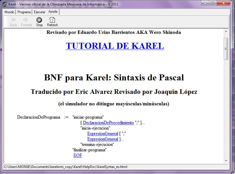 Compiladorespolomon Karel