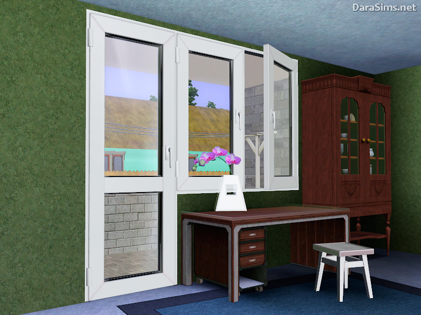 My sims 3 blog new windows and doors by dara sims for New windows and doors