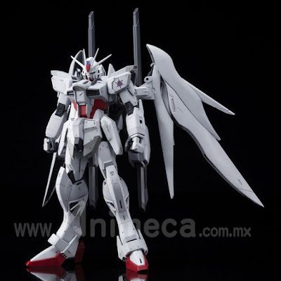 Impulse Gundam Blanche Master Grade (MG) 1/100 Model Kit Mobile Suit Gundam SEED ASTRAY