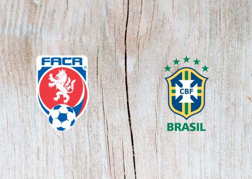 Czech Republic vs Brazil Full Match & Highlights 26 March 2019