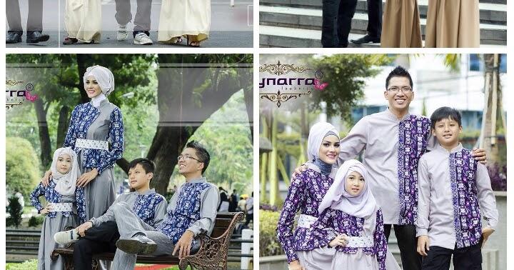 Jual Baju Hijab Couple Sarimbit Keluarga By Cynarra