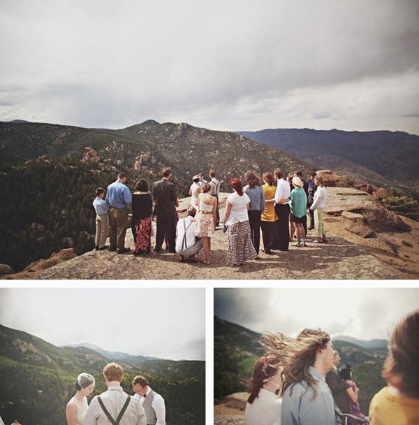 Life Of A Vintage Lover A Co Mountain Top Wedding