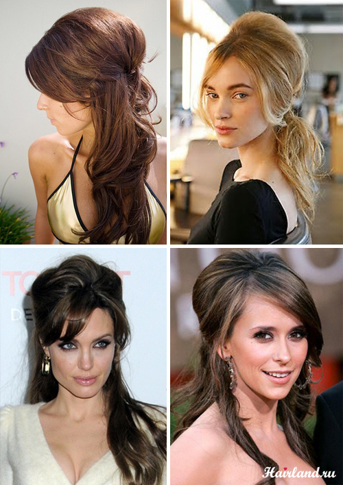 Зачіски з начосом справжній порятунок для тонких довгого волосся. Під ... 6b29ad1e7ad7a