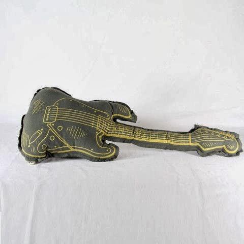 Cojin Guitarra