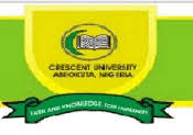 Crescent University 2018/2019 Post-UTME & Direct Entry Screening Form Out