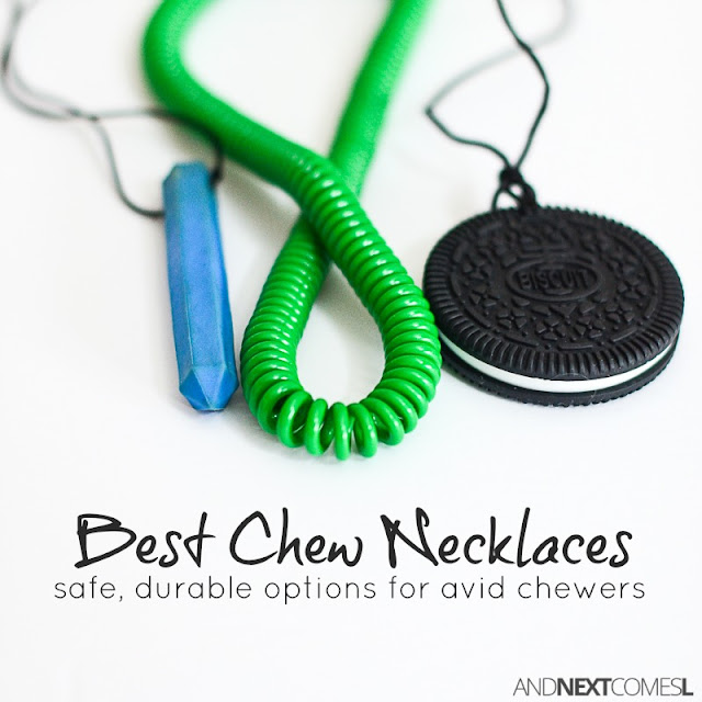 The toughest, most durable chew necklaces for kids who chew on everything from And Next Comes L