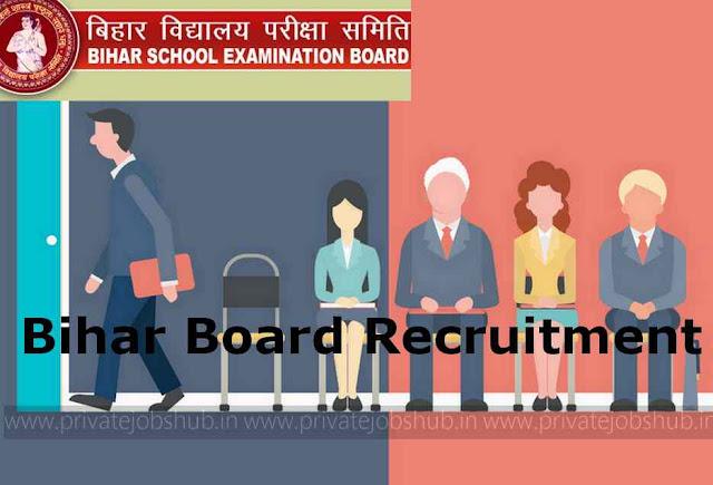 Bihar Board Recruitment