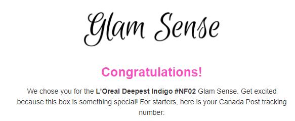 Glam Sense L'Oreal Campaign