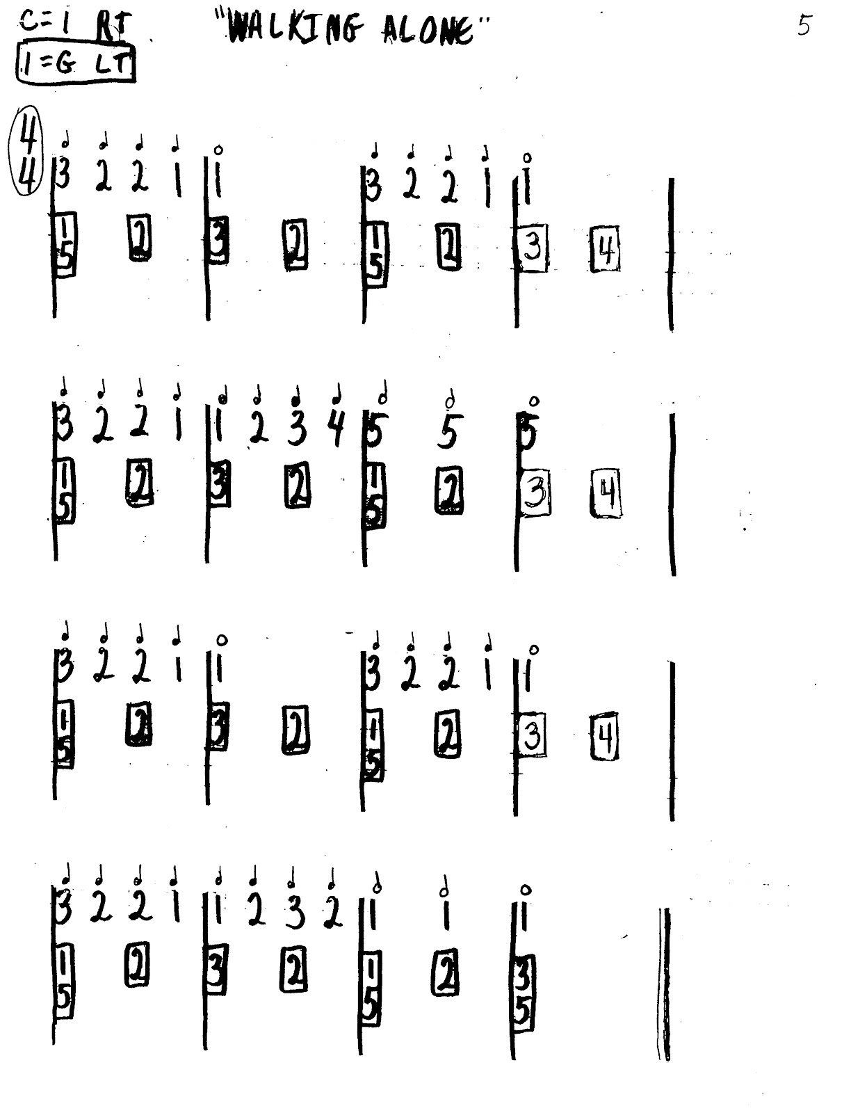 Miss Jacobson's Music: EASY KEYBOARD #3: MELODY/HARMONY