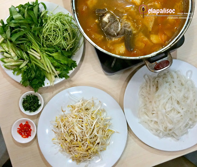 Special Vietnamese Fish Soup from Tra Vinh