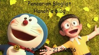 Pencarian Bloglist 2016