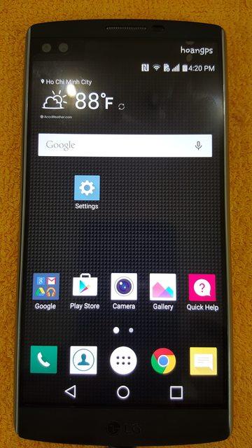 Remove Google Account LG V10 VS990 Verizon USA - Smartphone