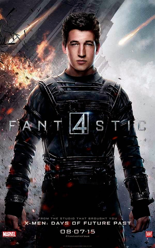 Poster Reed Richards 4 Fantásticos