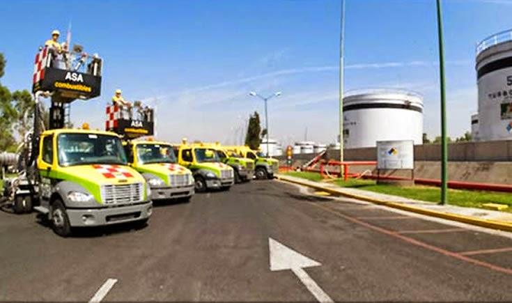 ASA distribuye más de 3 mil 500 millones de litros de turbosina y gasavión anualmente, a través de las 60 estaciones de combustible, ubicadas en todos los aeropuertos del país. (Foto: Cortesía Asa)