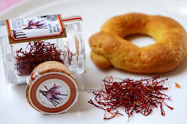 Wild Saffron Biscuits