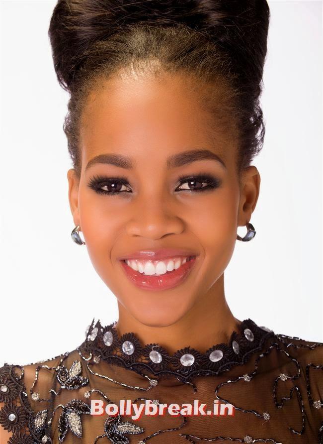 Miss Botswana, Miss Universe 2013 Contestant Pics