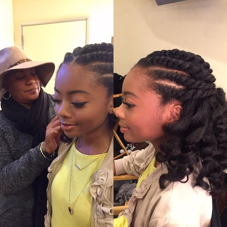 Hairspiration: Some Beautiful Natural Hairstyles For The