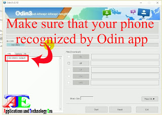 Rooting android phones by ODIN CF-AUTO-ROOT