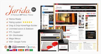 download jarida theme for wordpress
