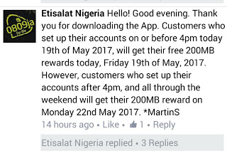 Etisalat Facebook Free Data