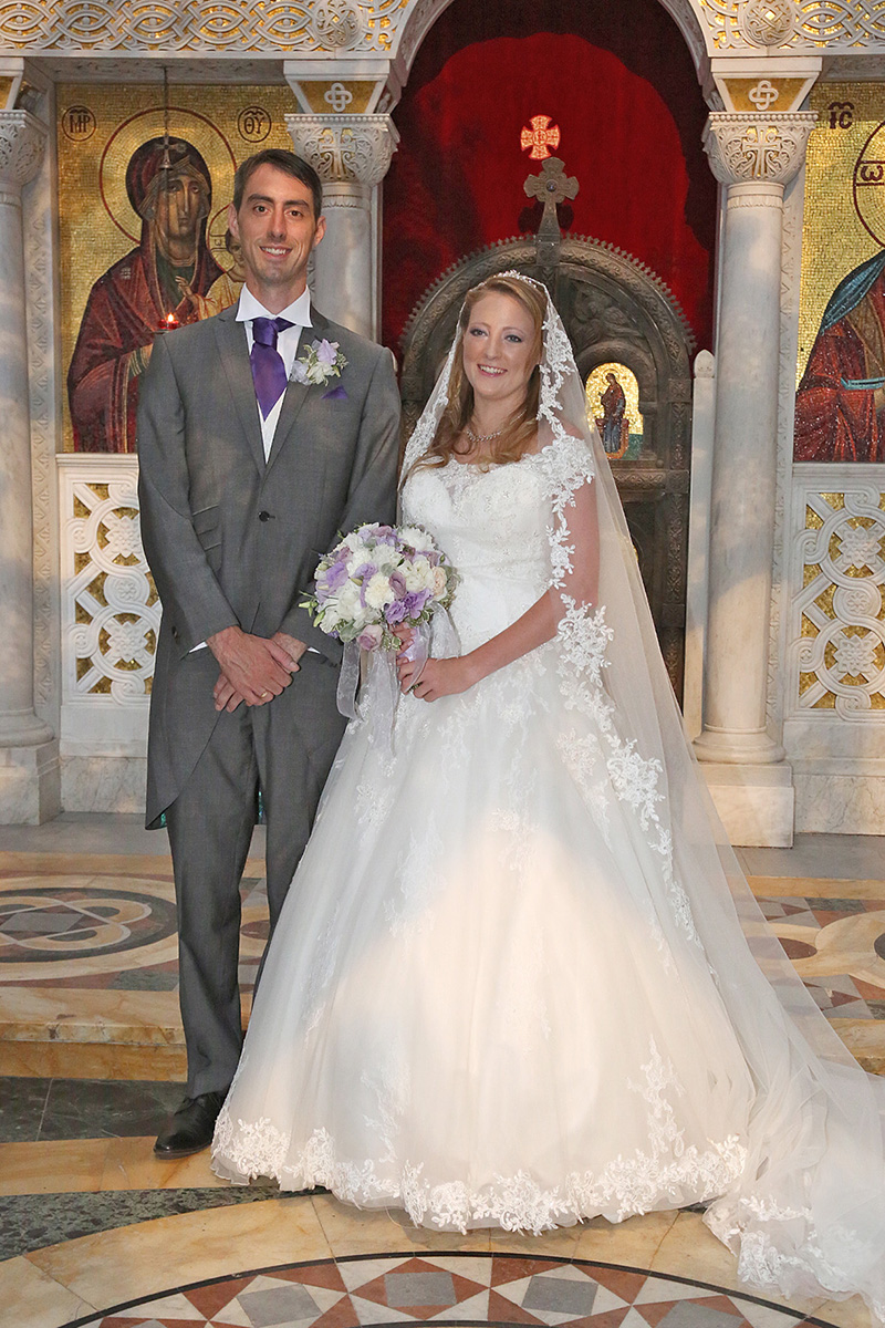 Royal Musings: Fallon and George of Serbia have religious wedding