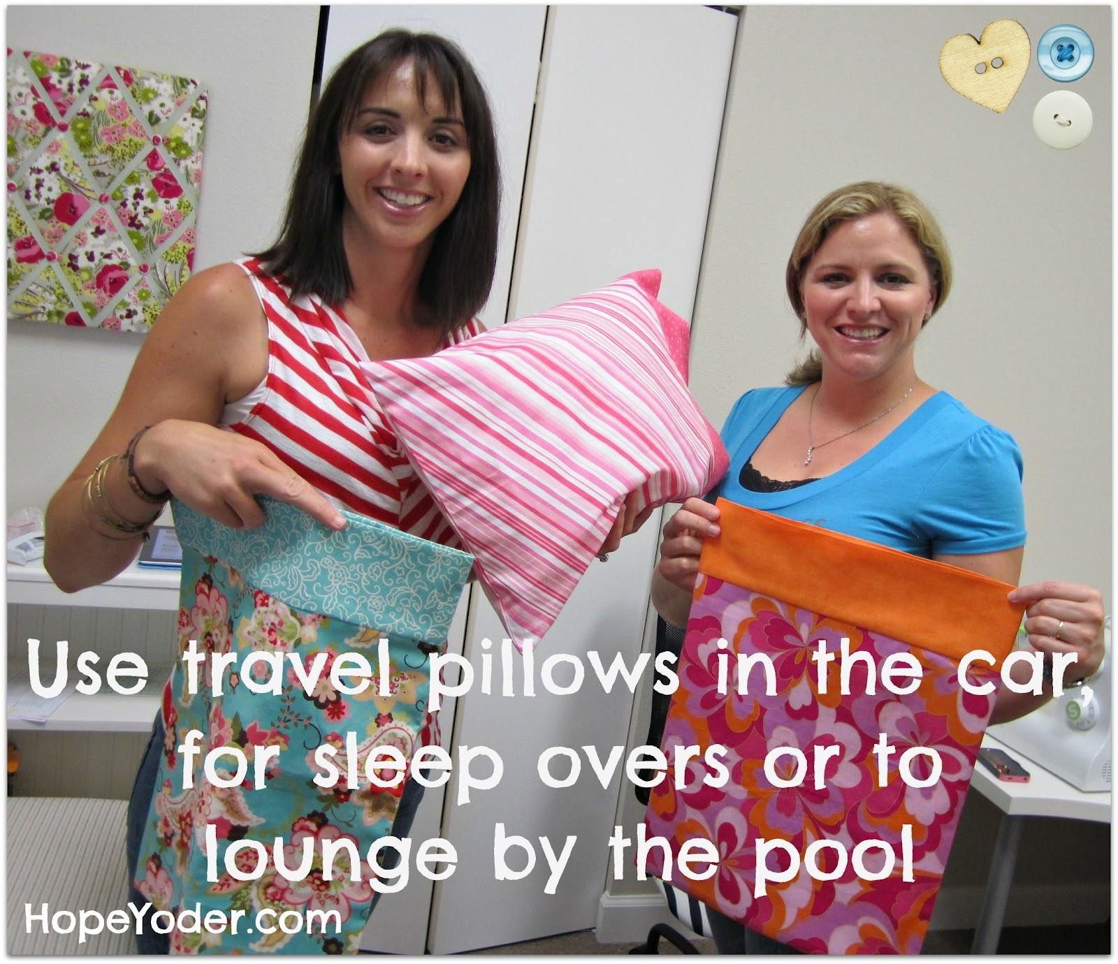 Travel Pillow Case Pattern