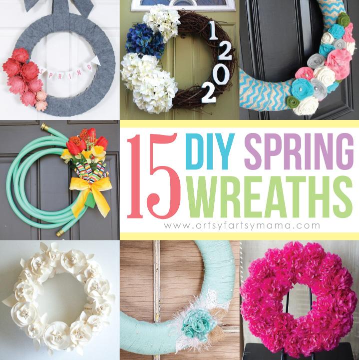 15 DIY Spring Wreaths