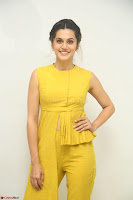 Taapsee Pannu looks mesmerizing in Yellow for her Telugu Movie Anando hma motion poster launch ~  Exclusive 117.JPG