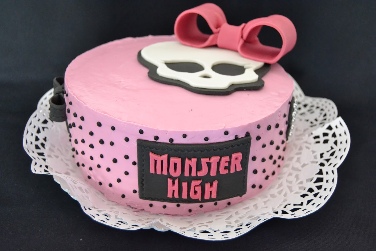 Chocolate B Day Cake On Pinterest Monster High Cakes