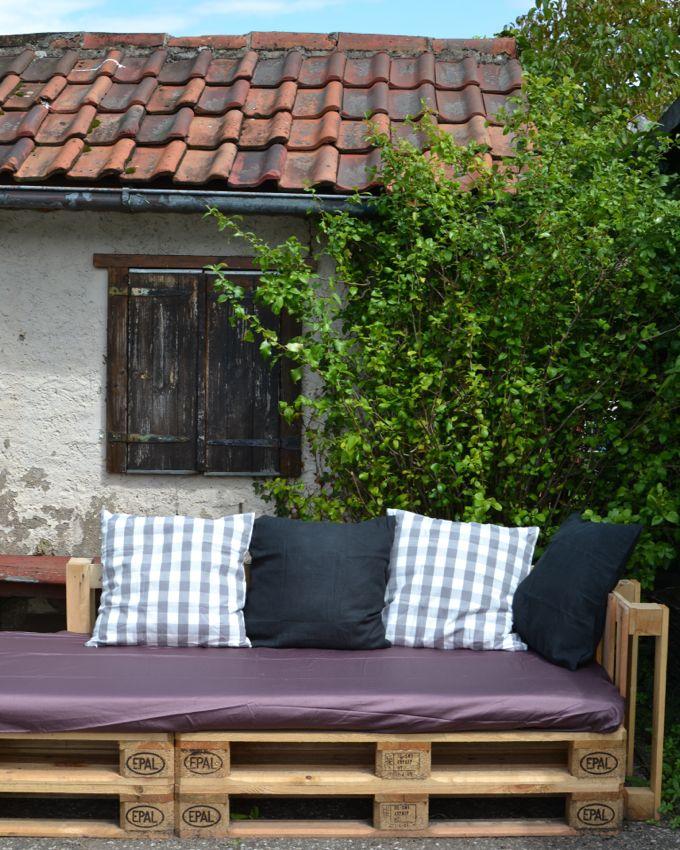 sitzecke aus europaletten bauanleitung interessante ideen f r die gestaltung. Black Bedroom Furniture Sets. Home Design Ideas