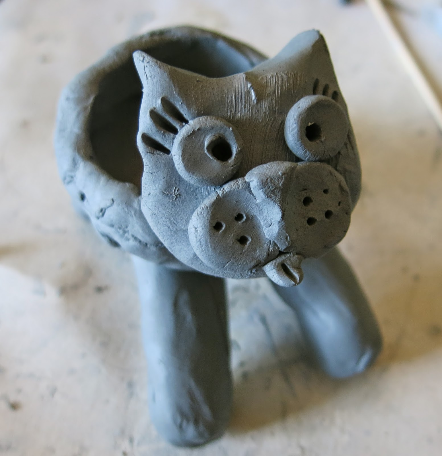 Cassie Stephens In The Art Room A Pinch Pot Mascot
