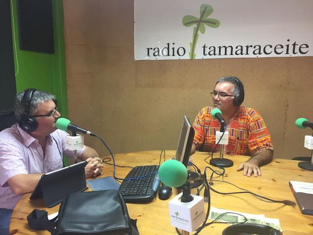 Entrevista en Radio Tamaraceite