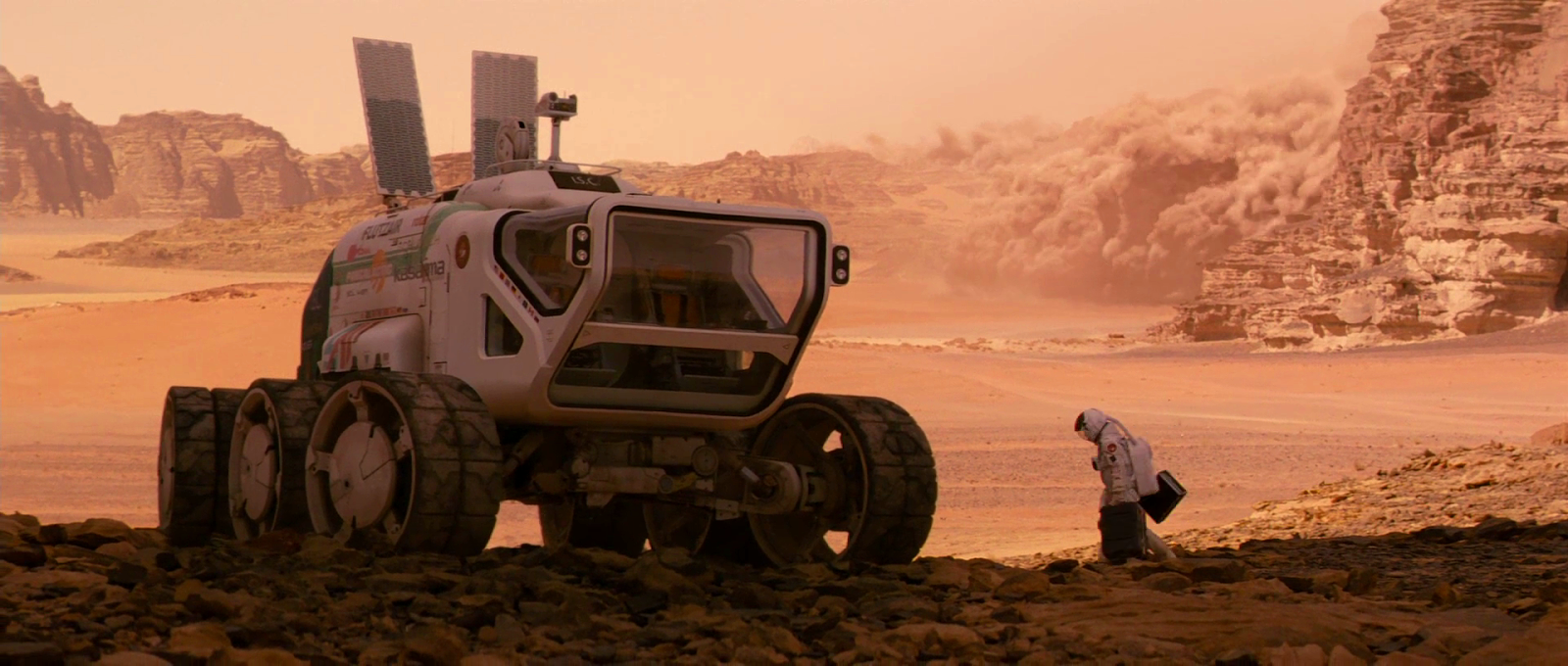 human Mars: Images from The last days on Mars movie