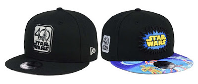 Star Wars 40th Anniversary Hat Collection by New Era Cap