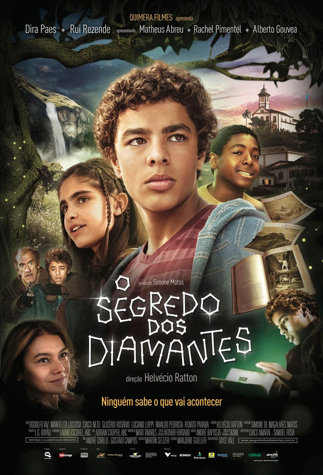 Poster do filme O segredo dos diamantes