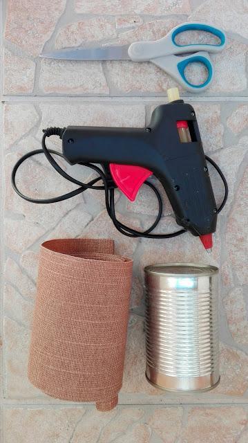 doniczki z puszek DIY