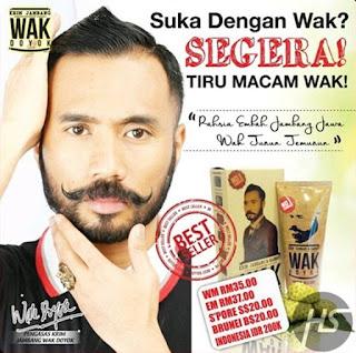 Buktikan !!! Wak Doyok Asli - Cream Penumbuh Rambut