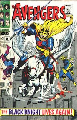 Avengers #48, the Black Knight returns