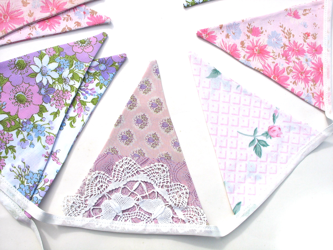 Floral Store Bunting Decor